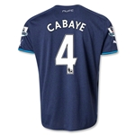 Newcastle United 13/14 CABAYE Away Soccer Jersey