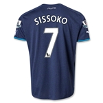 Newcastle United 13/14 SISSOKO Away Soccer Jersey