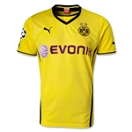 Borussia Dortmund 13/14 UCL Home Soccer Jersey