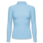 Under Armour Women's SubZero Long Sleeve Mock (Sky)