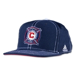 Chicago Fire Flat Brim Snap Back Cap