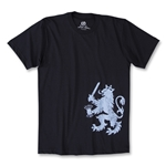Objectivo Holland Delft Blues Lion Soccer T-Shirt (Navy)