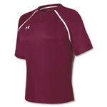 Under Armour Women's Retaliate Soccer Jersey (Maroon/Wht)