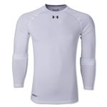 Under Armour Heatgear Sonic Compression LS T-Shirt (White)