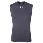 UA Heatgear Sonic Compression Sleeveless T-Shirt (Dark Gray)