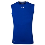 Under Armour Heatgear Sonic Compression Sleeveless T-Shirt (Royal)