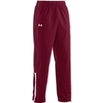Under Armour Campus Warm-Up Pant (Maroon/Wht)