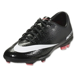 Nike Junior Mercurial Vapor IX FG (Black/White)