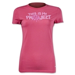PUMA Project Pink Kick It Women's T-Shirt (Pink)