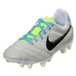 Nike Tiempo Natural IV LTR FG Junior (Light Bone/Black)