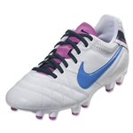 Nike Women's Tiempo Natural IV LTR FG (White/Club Pink)