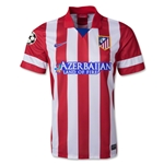 Atletico Madrid 13/14 UCL Home Soccer Jersey