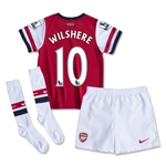 Arsenal 13/14 WILSHERE Kids Home Kit