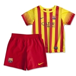 Barcelona 13/14 Boys Away Soccer Kit