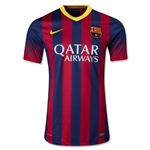 Barcelona 13/14 Authentic Home Soccer Jersey