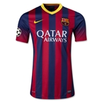 Barcelona 13/14 UCL Authentic Home Soccer Jersey
