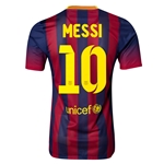 Barcelona 13/14 MESSI Jersey de Futbol Local Autentico