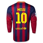 Barcelona 13/14 MESSI Jersey de Futbol Local ML