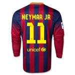 Barcelona 13/14 NEYMAR JR Jersey de Futbol Local ML