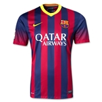 Barcelona 13/14 Jersey de Futbol Local
