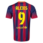 Barcelona 13/14 ALEXIS Jersey de Futbol Local