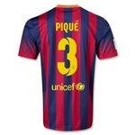 Barcelona 13/14 PIQUE Jersey de Futbol Local