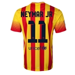 Barcelona 13/14 NEYMAR JR Away Soccer Jersey