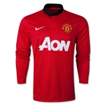 Manchester United 13/14 Jersey de Futbol Local ML