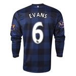 Manchester United 13/14 EVANS LS Away Soccer Jersey