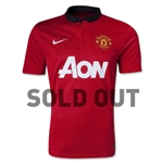 Manchester United 13/14 Home Soccer Jersey [SOLD OUT]