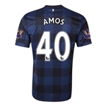 Manchester United 13/14 AMOS Away Soccer Jersey