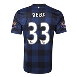 Manchester United 13/14 BEBE Away Soccer Jersey