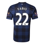 Manchester United 13/14 FABIO Away Soccer Jersey