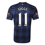 Manchester United 13/14 GIGGS Away Soccer Jersey