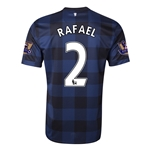 Manchester United 13/14 RAFAEL Away Soccer Jersey