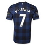 Manchester United 13/14 VALENCIA Away Soccer Jersey
