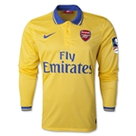 Arsenal 13/14 FA Cup LS Away Soccer Jersey