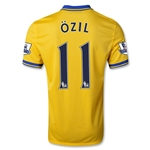 Arsenal 13/14 OZIL Away Soccer Jersey