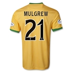 Celtic 13/14 MULGREW Away Soccer Jersey