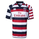 USA Sevens 2013 Limited Edition Home SS Rugby Jersey