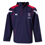 USA Rugby 1/4 Zip Rain Jacket