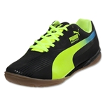 PUMA evoSPEED Star II JR (Black/Fluorescent Yellow)