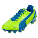PUMA evoSPEED 2.2 FG (Fluo Yellow/Brilliant Blue/Black)
