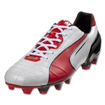 PUMA Spirit FG (Metallic White/High Risk Red/Black)
