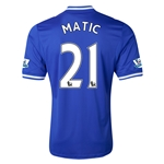 Chelsea 13/14 21 MATIC Home Soccer Jersey