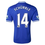 Chelsea 13/14 14 SCHURRLE Home Soccer Jersey