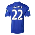 Chelsea 13/14 22 WILLIAN Home Soccer Jersey