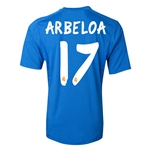 Real Madrid 13/14 ARBELOA Away Soccer Jersey