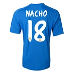 Real Madrid 13/14 NACHO Away Soccer Jersey