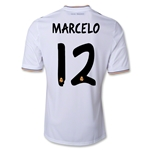 Real Madrid 13/14 MARCELO Home Soccer Jersey